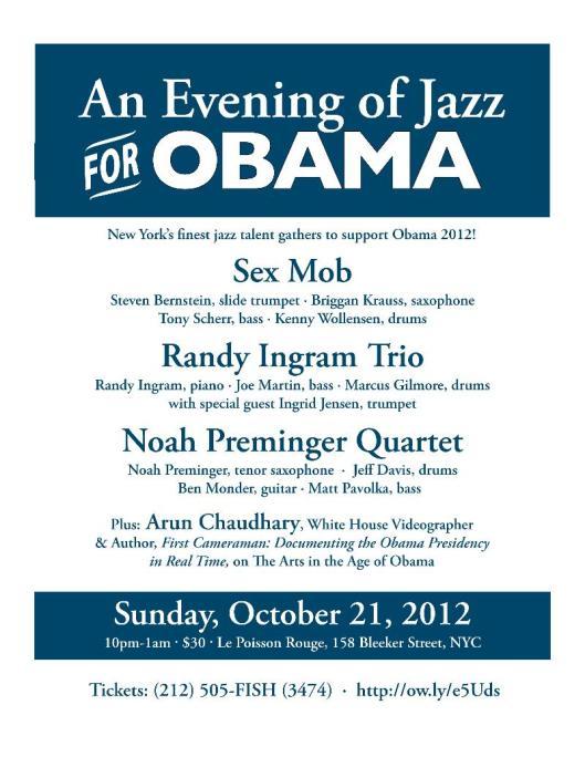 Jazz for President Obama