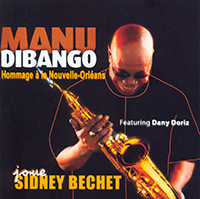Manu Dibango saxophonist