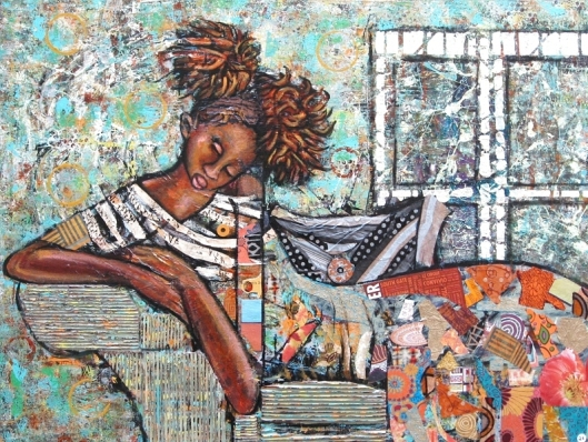 April Harrison, artist, African American
