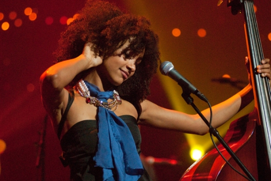 Esperanza Spalding, Grammy Award Winner, bassist, composer and vocalist